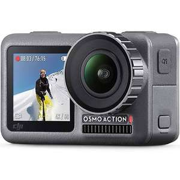 Caméra sportive DJI Osmo Action - 12 Mpix, Wi-Fi / Bluetooth (259€ avec le code FETES2019)