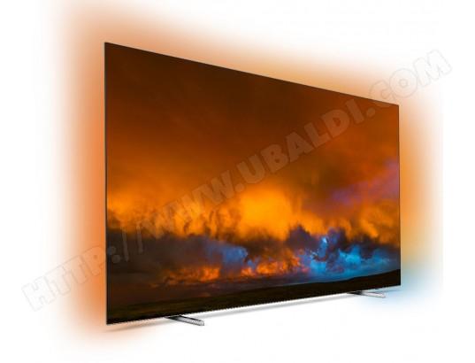 "TV OLED 65"" Philips 65OLED804 (2019) - 4K UHD, Smart TV, Ambilight 3 côtés, Dolby Vision / Atmos"