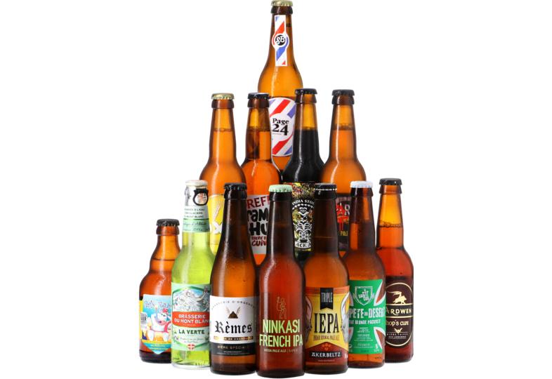 Jusqu'à 60% de réduction sur une sélection de bières bouteilles - Ex : Assortiment 12 Bières Cocorico
