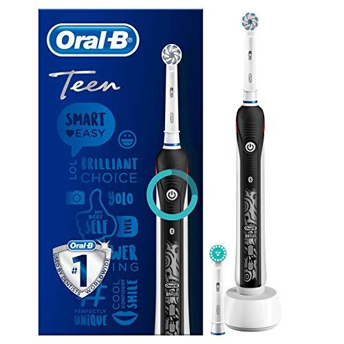 Brosse à Dents Électrique Rechargeable Oral-B Teen Black