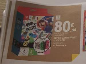 Super Mario Party sur Nintendo Switch + 1 Paire de Joy-Con