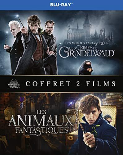 Coffret Bluray Les Animaux Fantastiques + Les Crimes de Grindelwald