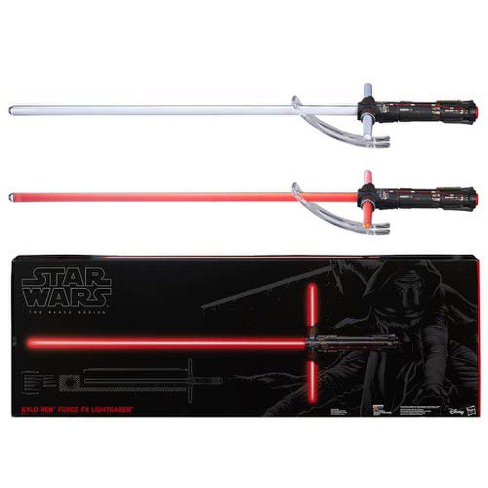 Sabre laser Deluxe FX Kylo Ren - Star Wars Le Réveil de la Force