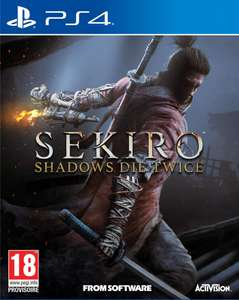 Sekiro: Shadows Die Twice sur PS4