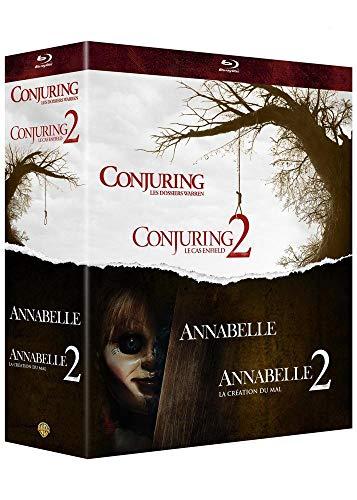 Coffret Blu-Ray Warren : Collection de 4 films (Annabelle et Conjuring)