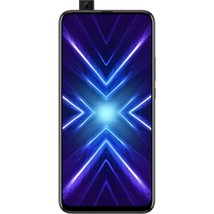 "Smartphone 6.59"" Honor 9x - Full HD+, Kirin 810, 4 Go de RAM, 128 Go"