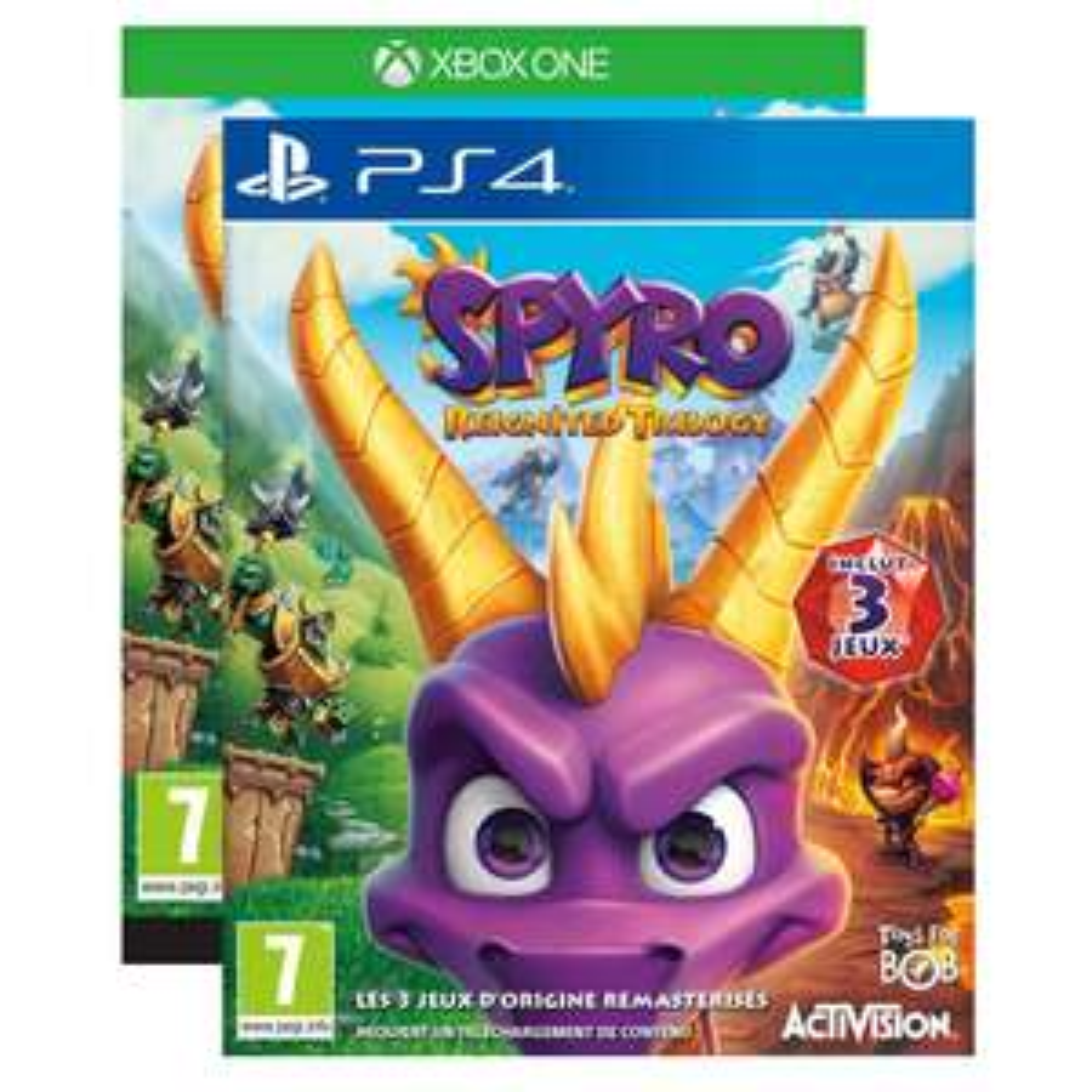 Spyro Reignited Trilogy sur PS4 ou Xbox One