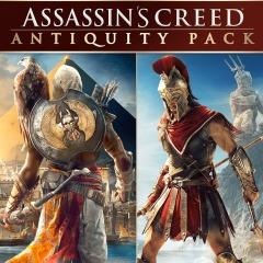 Assassin's Creed Antiquity Pack : Origins + Odyssey sur PS4 (Dématérialisé - Store CA)