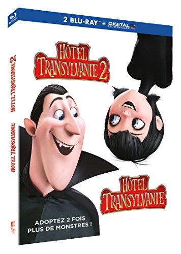 Coffret Blu Ray Hôtel Transylvanie 1 et 2 + Copie digitale