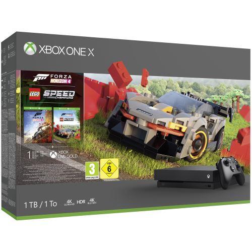 [Adhérents] Sélection de Xbox One X (1 To) en promotion - Ex : Xbox One X + Forza Horizon 4 + Lego Speed Champions (+ 100€ en fidélité)