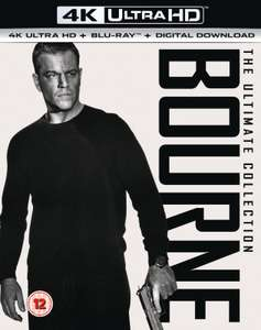Coffret Blu-ray 4K UHD Bourne - The Ultimate Collection (+ Blu-ray + version numérique)