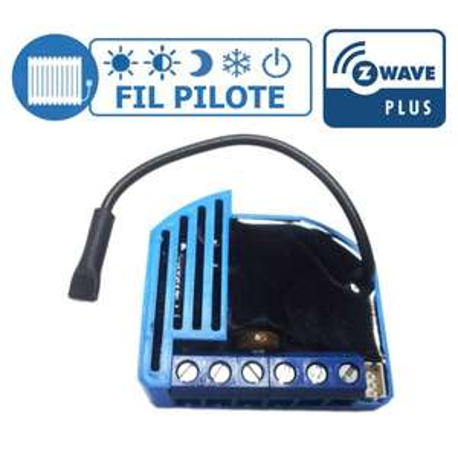 "Micromodule Qubino ZMNHJD1 ""fil pilote"" Z-Wave+"