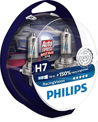 Lot de 2 ampoules Phare H7 Philips RacingVision 150%