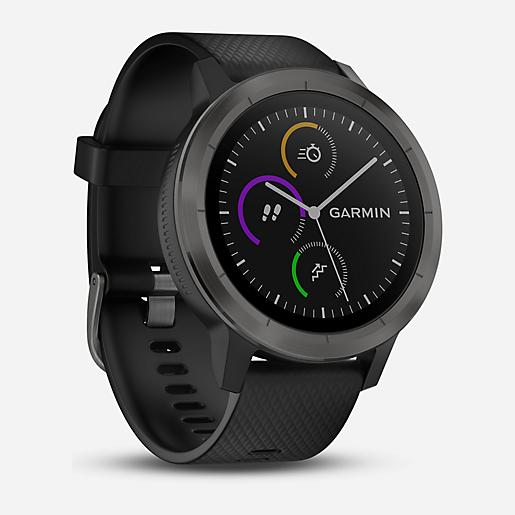 Montre connectée GPS Garmin Vivoactive 3 - Noire