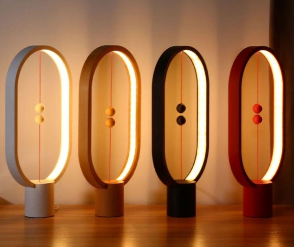 Lampe magnétique suspendue LED - Port USB