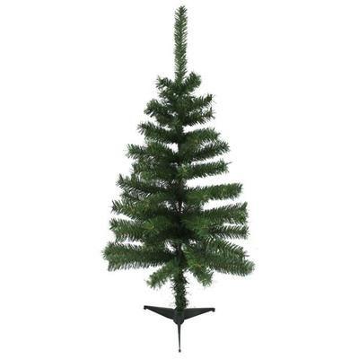 Sapin de Noël artificiel avec pied - 80 branches, 50 x 90 cm, Vert