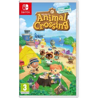 [Adhérents / Précommande] Animal Crossing : New Horizons sur Switch + Porte Clés au choix offert (+10€ sur le compte fidélité)
