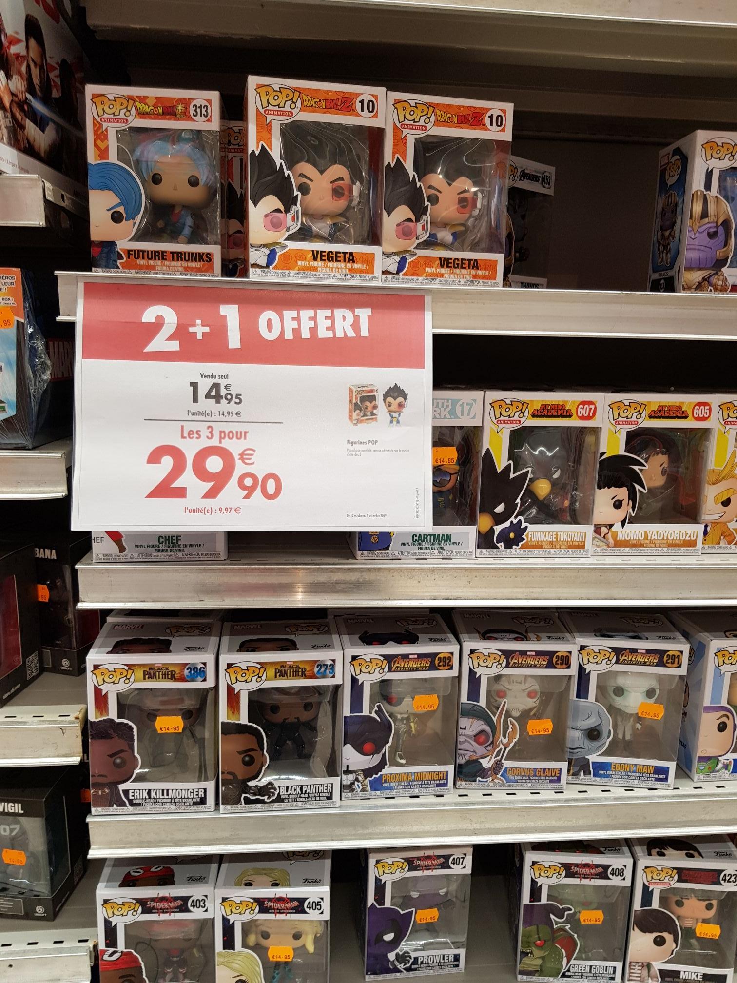 Lot de 3 figurines Funko Pop! à 29.9€ - Saint-Clément-de-Rivière (34)