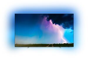 "TV OLED 65"" Philips 65OLED754 - UHD 4K, HDR 10+, Ambilight 3 Côtés, Smart TV (Via ODR 300€)"