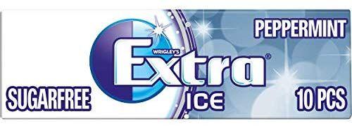 Jusqu'à 56% de réduction sur une sélection d'articles Wrigkey - Ex : Chewing gums Wrigley's Extra Ice Peppermint Sugarfree - 10 x 30