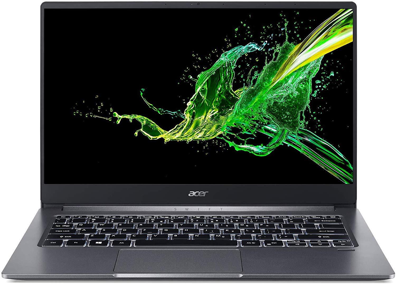 "PC Portable 14"" Acer Swift 3 2019 - Full HD, i7-1065G7, 8 Go RAM, 512 Go SSD, Windows 10, QWERTY"