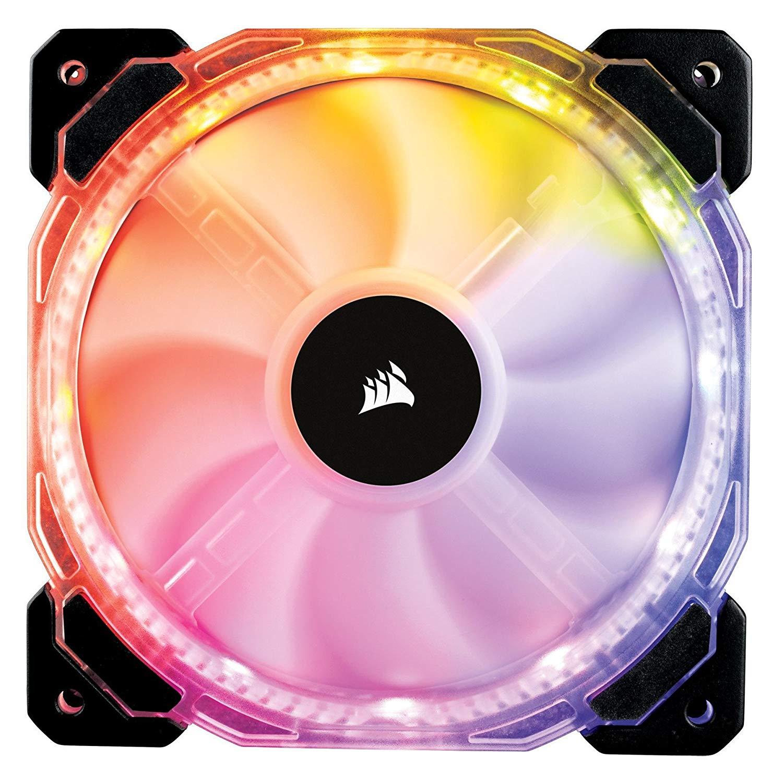 Ventilateur pour boitier PC Corsair HD120 RGB LED - 120 mm, PWM