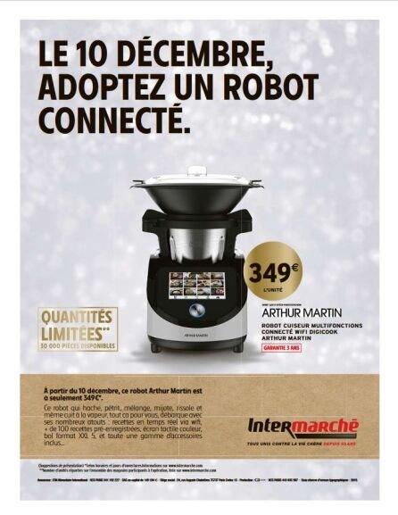 Robot Cuiseur Multifonctions connecté Arthur Martin Digicook
