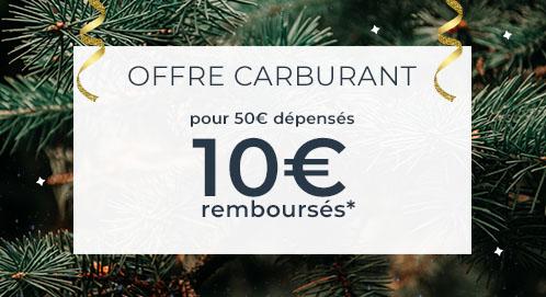 [Carte Cdiscount] 10€ remboursés en bon d'achat dès 50€ de carburant achetés