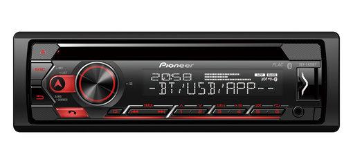 Autoradio Pioneer DEH-S420BT - Bluetooth, CD et Commande au volant (Via ODR de 40€)