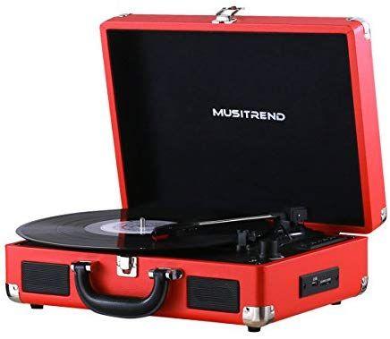 Tourne disque vinyle Musitrend- Bluetooth, Vitesses (vendeur tiers)