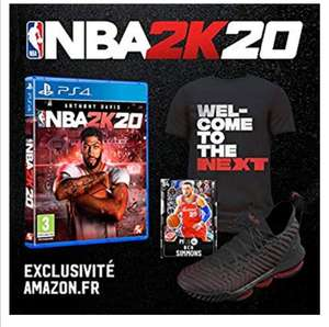 NBA 2K20 + DLC sur PS4 ou Xbox One