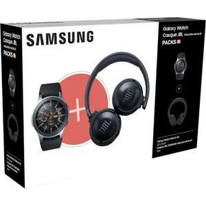 Montre Samsung Galaxy Watch 4G 46mm + Casque sans-fil JBL Tune 600