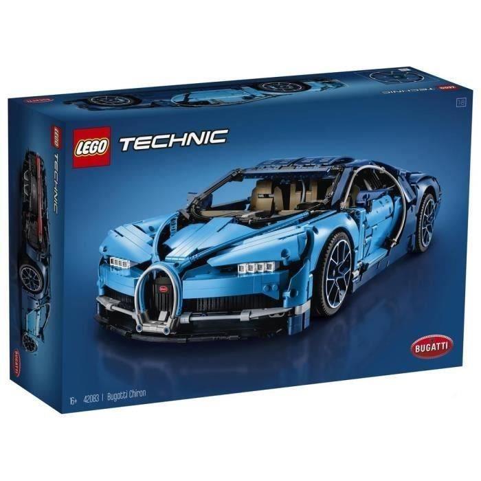 Jeu de construction Lego Technic Bugatti Chiron n°42083