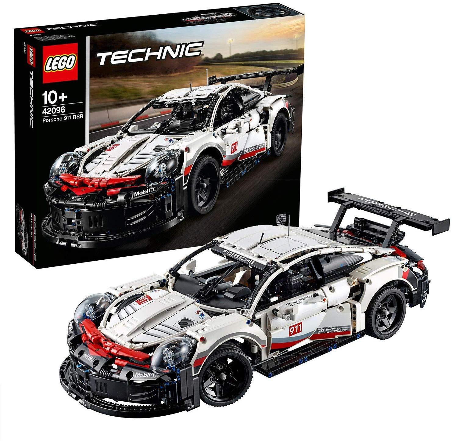 Jeu de Construction Lego Technic 42096 - Porsche 911 RSR (85,54€ avec 15D100KDO)