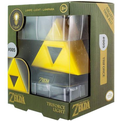 Lampe 3D Triforce Zelda (Via 6,50€ sur Carte de Fidélité)