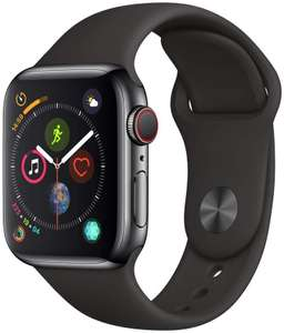 Montre connectée Apple Watch série 4 GPS + Cellular - 40 mm, Acier