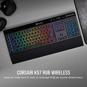 Clavier Gaming sans-fil Corsair K57 RGB Wireless