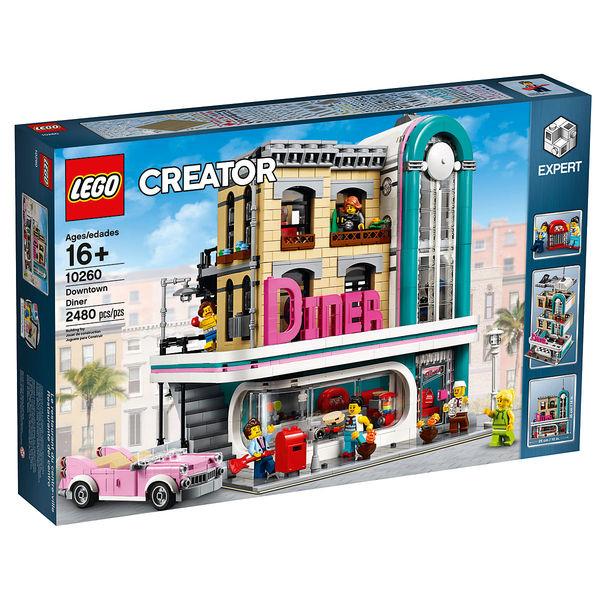 Lego 10260 - Un dîner au centre-ville
