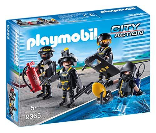 Jouet Playmobil Policiers d'élite (9365)