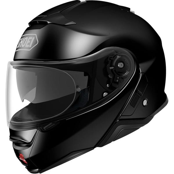 Casque de moto Shoei Neotec 2 Uni - blanc ou noir (du XS au XXL)