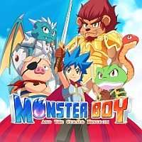Monster Boy and The Cursed Kingdom sur Nintendo Switch (Dématérialisé - eShop Norvège)