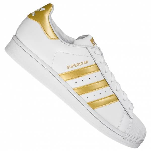 Chaussures adidas Originals Superstar - blanc / or (du 36 au 40 2/3)