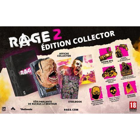 Rage 2 - Edition Collector PS4 et XBOX One (Via 65€ sur carte fidélité)