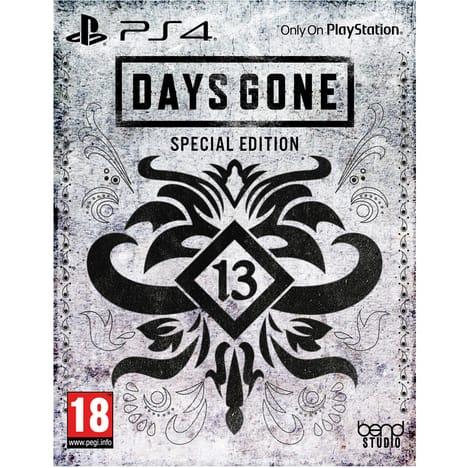 Days Gone Edition spéciale sur PS4 (via 40€ sur la carte fidélité)