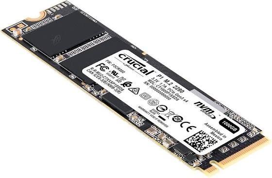 SSD interne M.2 NVMe Crucial P1 - 500 Go (46.89€ livraison incluse avec le code ADVDA4)