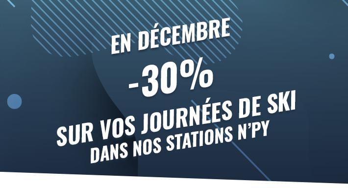[Carte No Souci] 30% de réduction sur les forfaits ski dans les stations N'PY (09, 31, 64, 65) - n-py.com