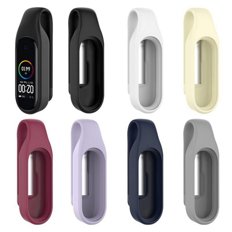 Clip en silicone pour Bracelet Xiaomi Mi Band 3 et 4