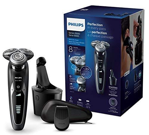 Rasoir électrique Philips S9531/26 Series 9000 avec Système de Nettoyage SmartClean et Tondeuse de Précision