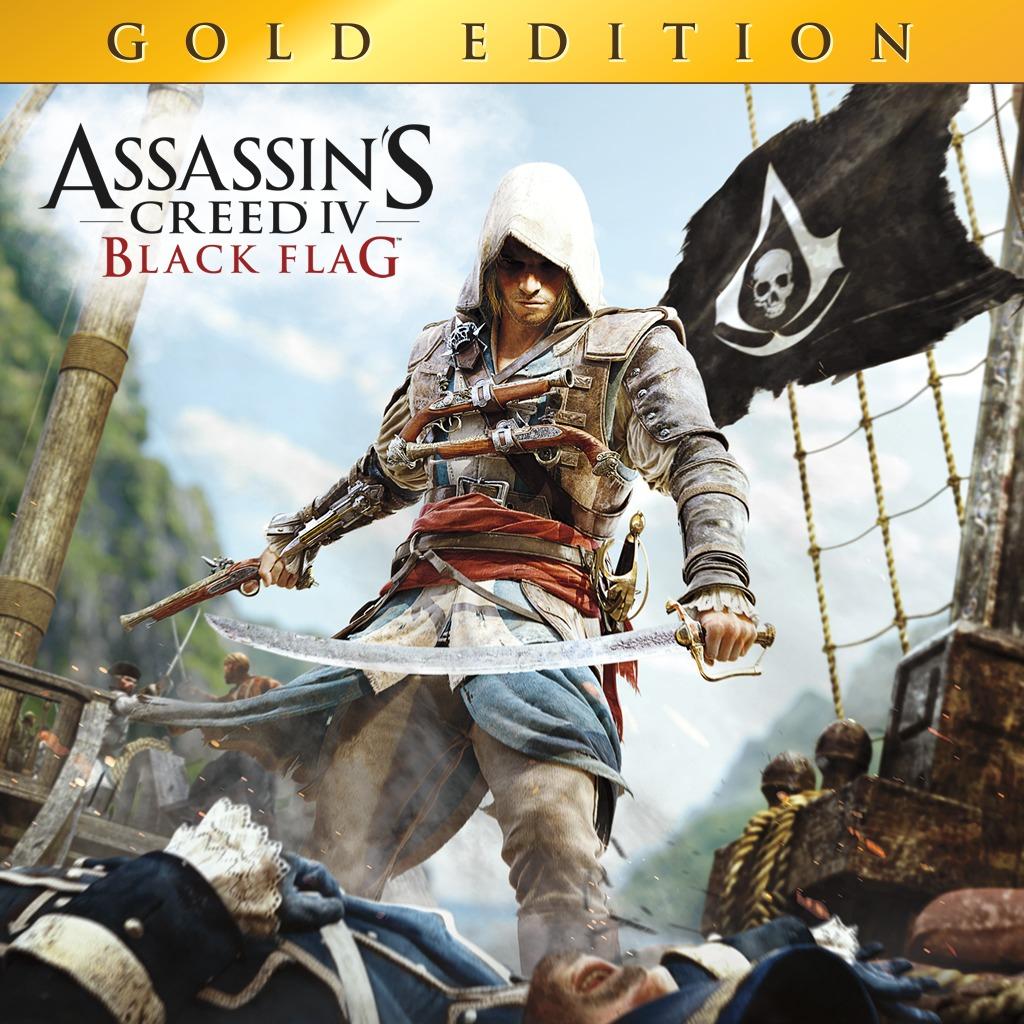 Assassin's Creed IV Black Flag Gold Edition Le : Jeu + DLC Sur PS4 (Dématérialisé - Store Ca)