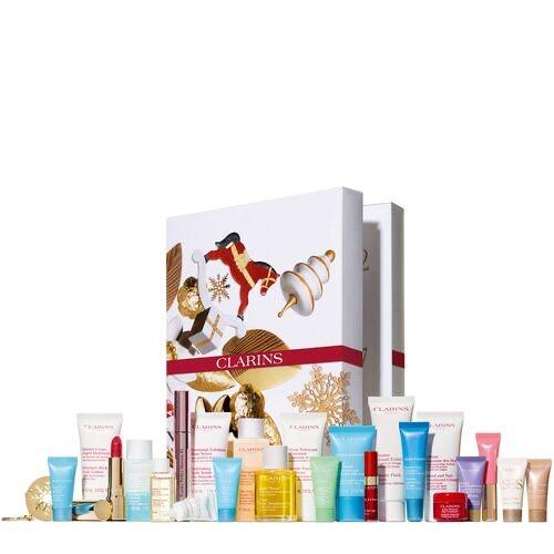 Calendrier de l'avent de produits beauté Clarins 24 cases (pharmammouth.com)